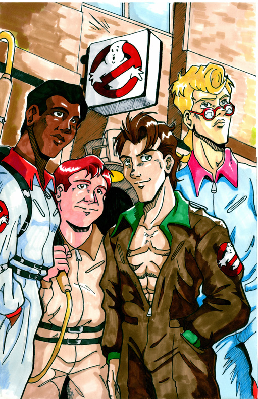 Real Ghostbusters Color 03 by Irie-mangastudios