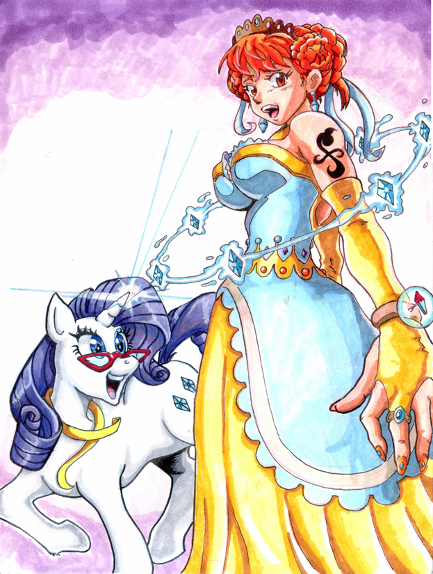 Nakama Is Magic Rarity Dresses Up Nami By Irie Mangastudios On
