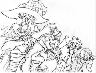 Nakama is Magic: Buggy and Trixie TEAM UP!! by Irie-mangastudios