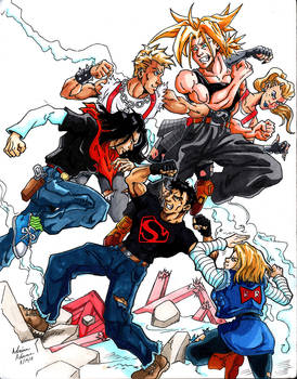 DBZxSuperman Team-Up 02