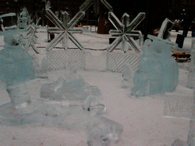 Ice Sculptures 2 by randomgirl3