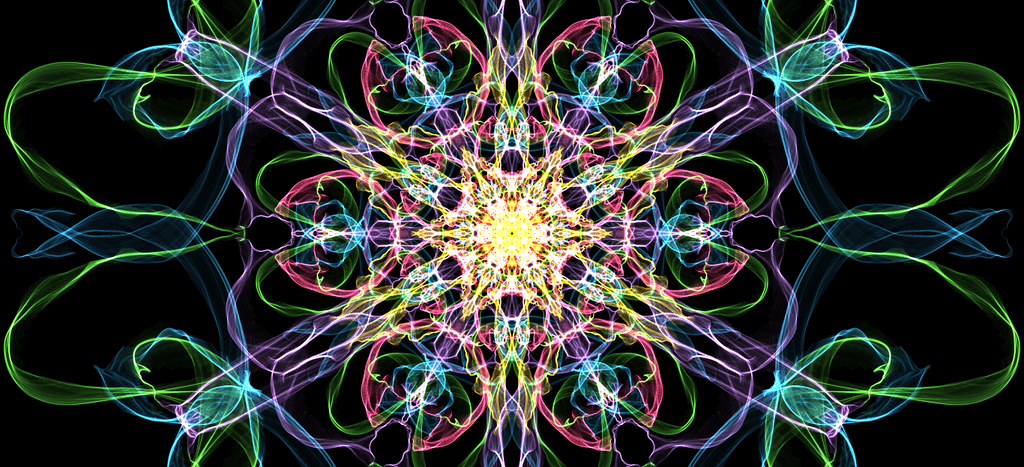 Rainbow Mandala by TomTaz