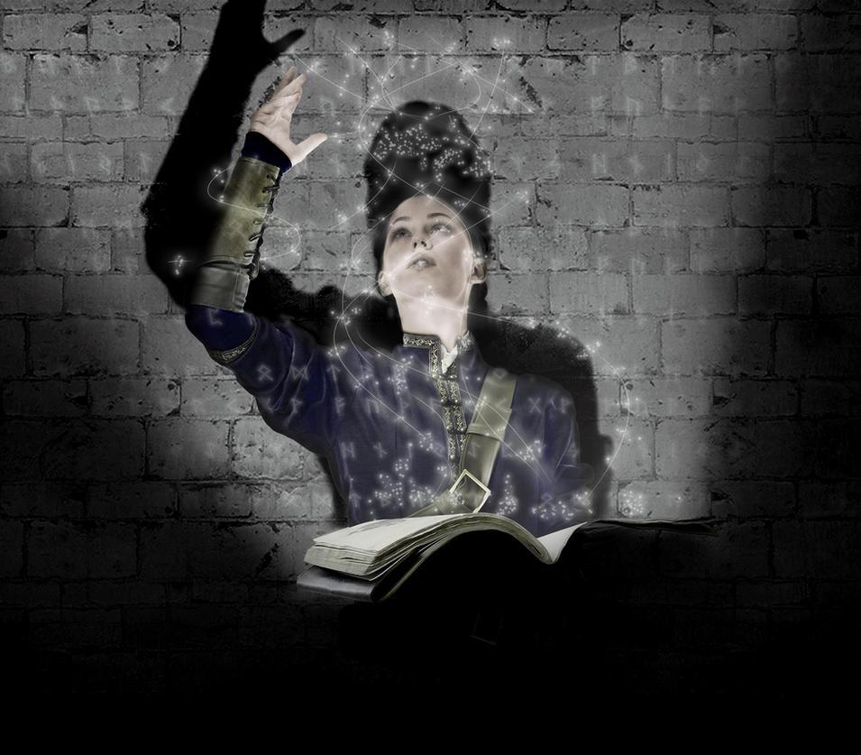 Girl magician by MpaKyC