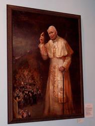Pope John Paul II by TheOnyxSwami