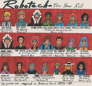 Robotech: The Honor Roll