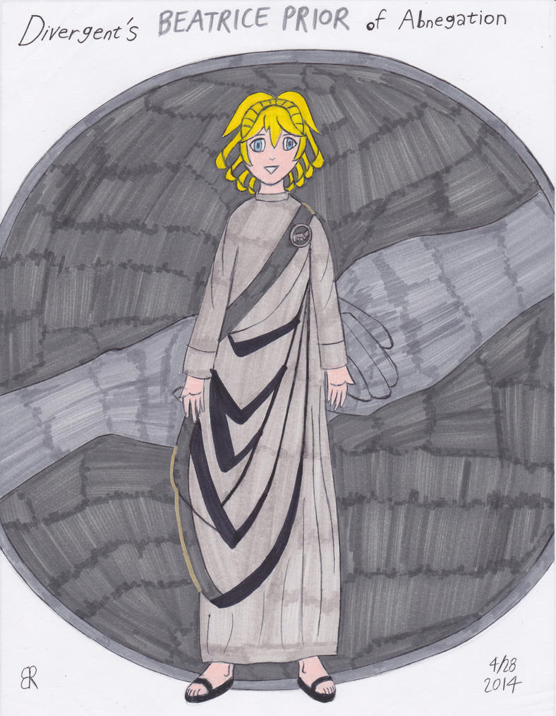 Beatrice Prior of Abnegation by TheOnyxSwami on DeviantArt
