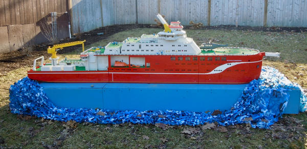 Lego Freighter