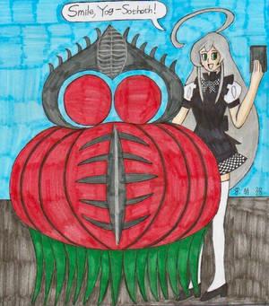 Yog-Sothoth and Nyaruko