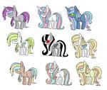 Pony Adopts   1-2 Points
