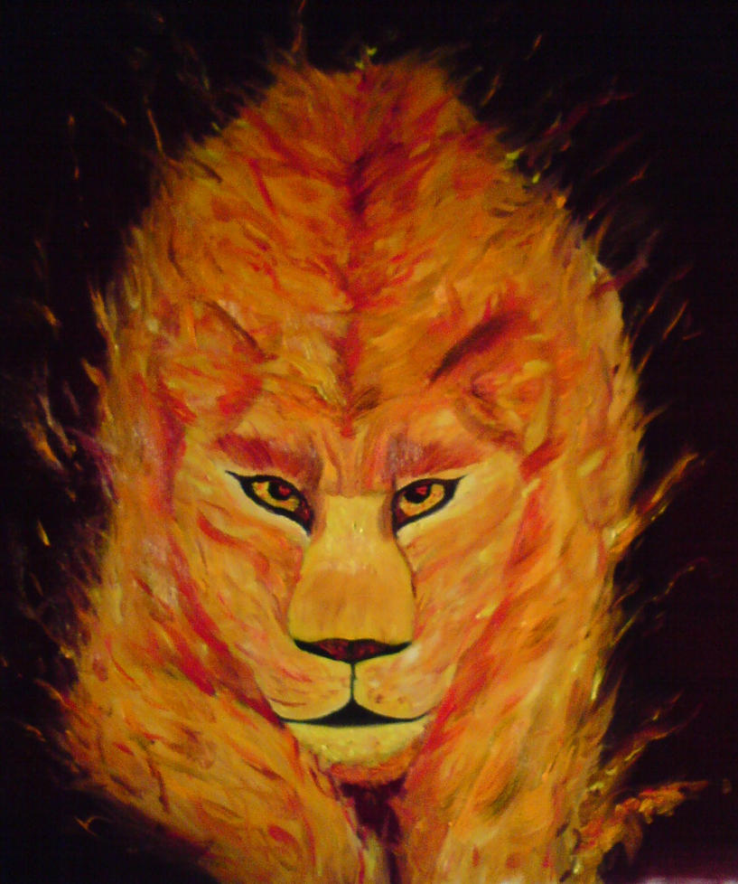 Fire Lioness by PerseCore on deviantART