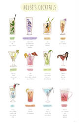 Mermaids Cocktails by Eamanelf