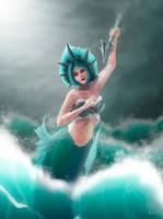 Spear Mermaid. by Eamanelf