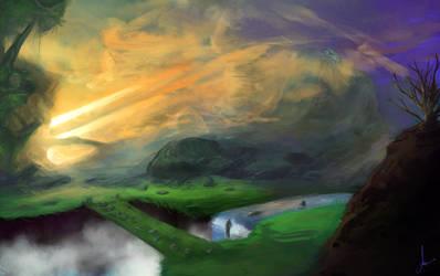 SunSet Hills by CarlosArthur
