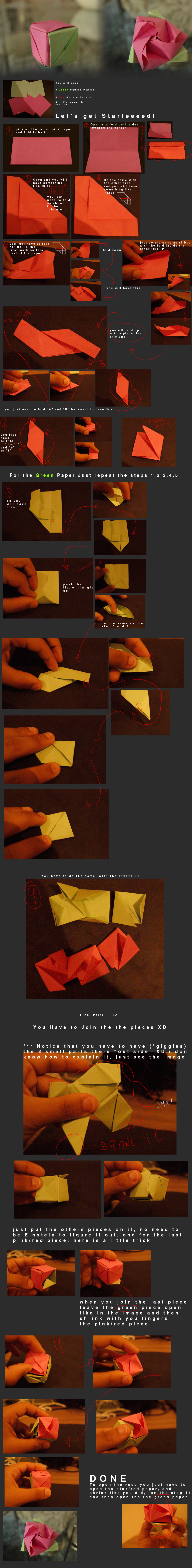 Magic Box Origami tutorial by CarlosArthur