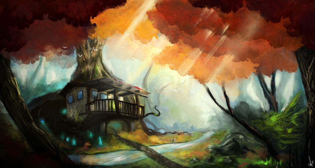 Tree House by CarlosArthur