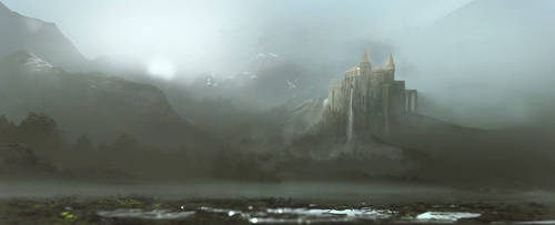 Misty Castle by CarlosArthur