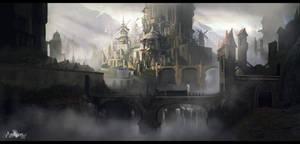Ansyen - city by CarlosArthur