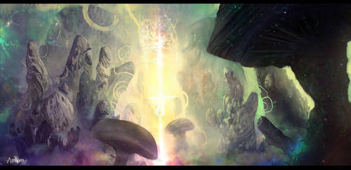 Ansyen - spiritual oasis by CarlosArthur