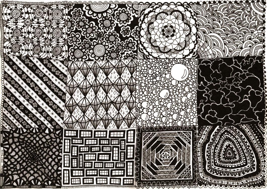 Zendoodle pattern design by triksu