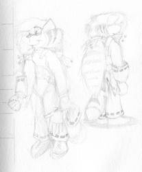 Draft Sketch: Tishka Feather by Tailz-Silver-Paws