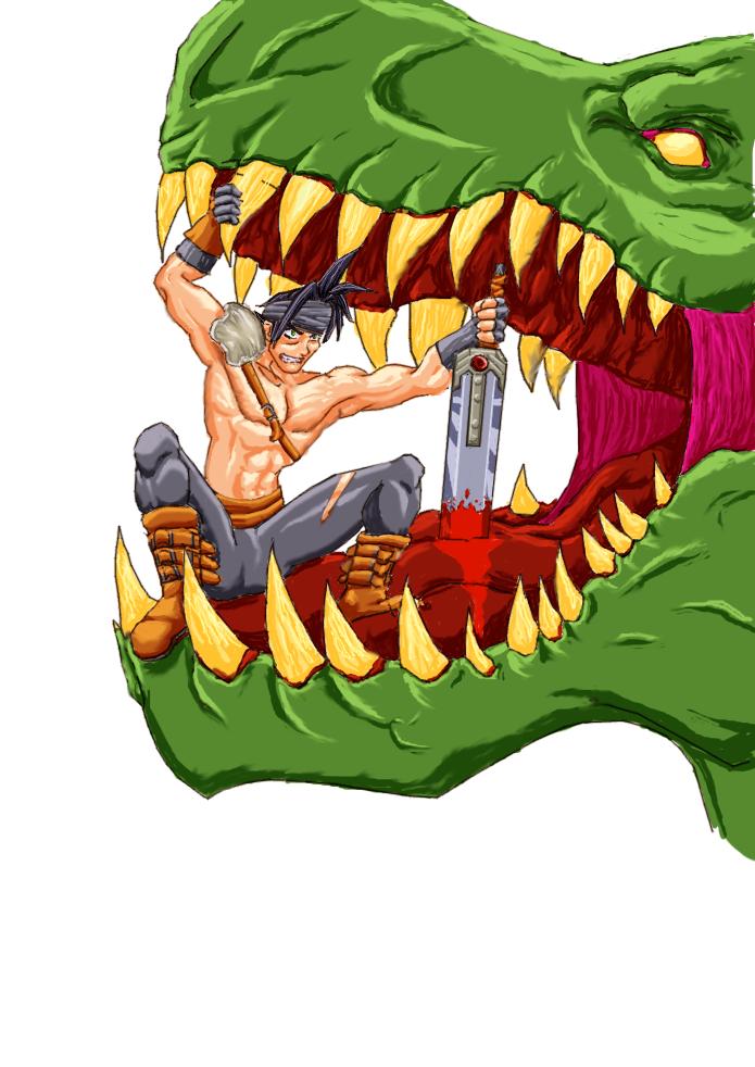 Dinosaur Slayer by CaptainRicco