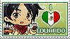APHxOC: Eduardo (Mexico) Fan Stamp by StampillaDiChocolat