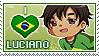 APHxOC: Luciano (Brazil) Fan Stamp by Cioccoreto