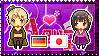APH: Fem!Germany x Fem!Japan Stamp by StampillaDiChocolat