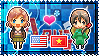 APH: Fem!America x Vietnam Stamp by StampillaDiChocolat