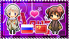APH: Russia x Fem!China Stamp by StampillaDiChocolat