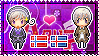 APH: Norway x Iceland Stamp by StampillaDiChocolat
