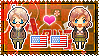 APH: America x Fem!America Stamp by StampillaDiChocolat