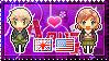 APH: England x Fem!America Stamp by Cioccoreto