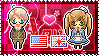 APH: America x Fem!England Stamp by xioccolate