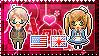 APH: America x Fem!England Stamp by StampillaDiChocolat