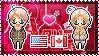 APH: America x Canada Stamp by xioccolate