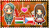 APH: Hungary x OC!Czech Republic Stamp by xioccolate