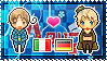 APH: North Italy x Fem!Germany Stamp by xioccolate