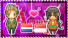 APH: Netherlands x OC!Indonesia Stamp by xioccolate