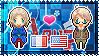 APH: France x America Stamp by xioccolate