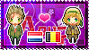 APH: Netherlands x Belgium Stamp by xioccolate