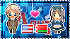 APH: America x Belarus Stamp by xioccolate