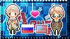 APH: Russia x America Stamp by Cioccoreto