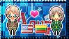 APH: America x Lithuania Stamp by Cioccoreto