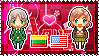 APH: Lithuania x Fem!America Stamp by StampillaDiChocolat