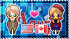 APH: America x Fem!Canada Stamp by StampillaDiChocolat
