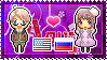APH: America x Fem!Russia Stamp by xioccolate
