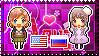 APH: Fem!America x Fem!Russia Stamp by Cioccoreto