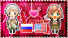 APH: Russia x Fem!America Stamp by StampillaDiChocolat