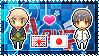 APH: England x Japan Stamp by xioccolate